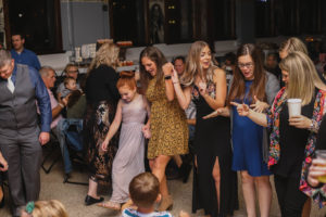 A real family wedding - everyone is out on the dance floor